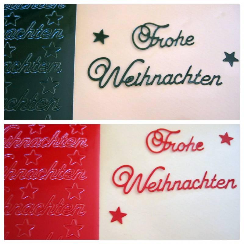 Sticker, Ecken, Bordüren, Schriften, Motive, Weihnachten, Ostern